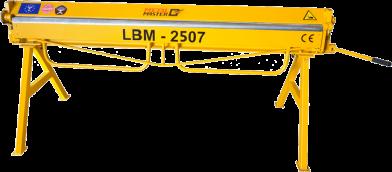 Листогибы, Ручной листогибочный станок Metal Master LBM 2507